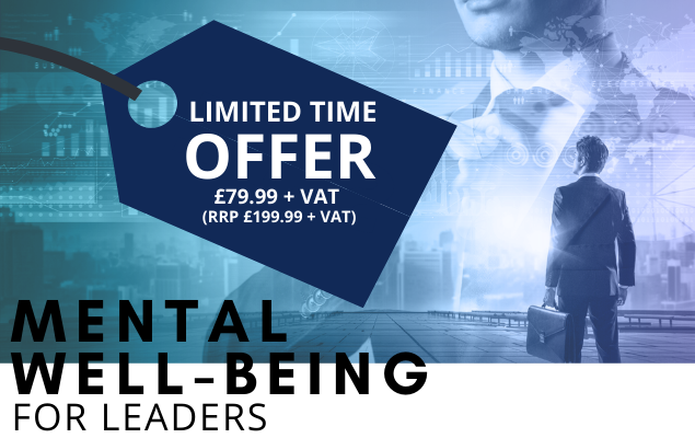 'Mental Well-being for Leaders' - live course