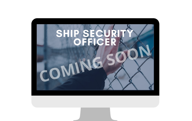 Ship Security Officer - live course    COMING SOON